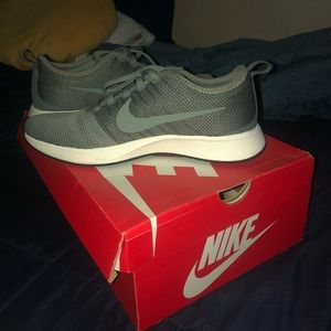 Olive Green Nike Running Shoes NEW